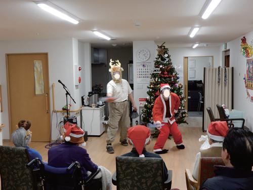 写真で見るみねまちの郷_クリスマス会