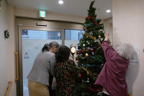 写真で見るみねまちの郷_クリスマスツリー