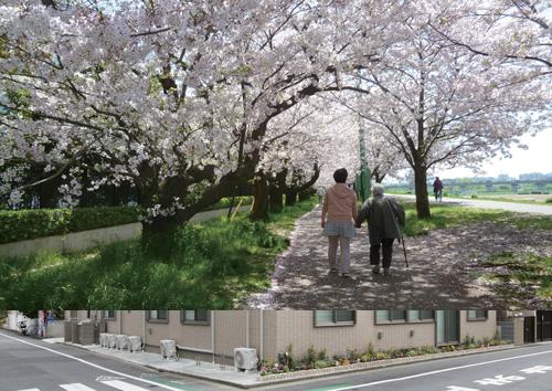 写真で見るみねまちの郷_お花見散歩